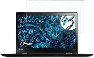 Bruni Skärmskydd är kompatibel med Lenovo ThinkPad X1 Carbon 3rd Gen. 2015 Film, kristallklart Skyddsfilm (2X)