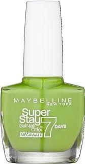 Maybelline SuperStay Mega Watt 7days 660 Lime Me Up Verde esmalte de uñas - esmaltes de uñas (Verde Lime Me Up Francia ...