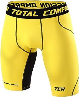 Mens TCA SuperThermal Compression Base Layer Thermal Under Shorts - Varsity Royal