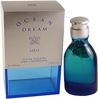 Ocean Dream Ltd By Designer Parfums Ltd For Men. Eau De Toilette Spray 3.4 Ounces