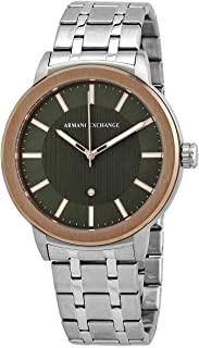 Armani Exchange Men's Maddox Three Hand Two-Tone Stainless Steel Watch AX1470