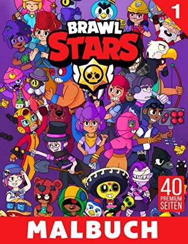 Brawl Stars Malbuch 1: Lustige Malseiten mit Ihren Lieblings-Brawl Stars
