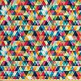 Lunarable abstraktes Dreiecksstoff von The Yard,