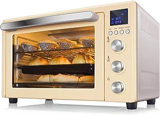 Toaster oven STBD-Horno eléctrico de circulación de Aire Caliente en 3D, Que Incluye Red de Parrilla, Bandeja de escoria, Soporte de Bandeja, Bandeja de Horno, Control de Temperatura de Doble sonda