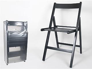 Amazon.es: sillas madera