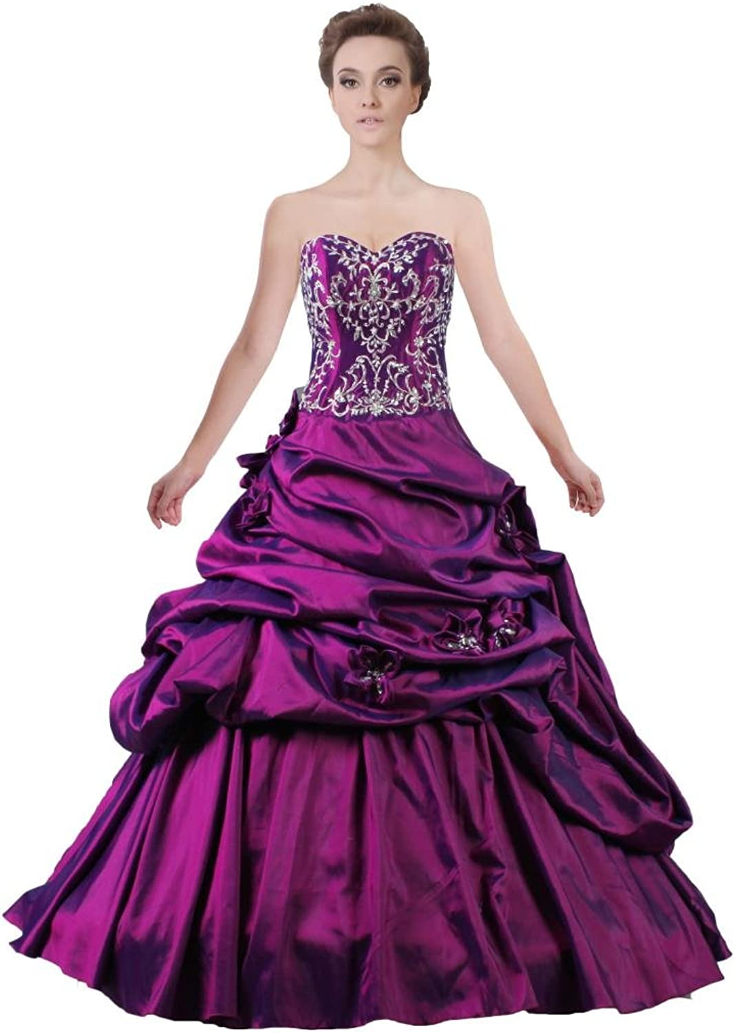 ANTS Women's Sweetheart Quinceanera Dresses Ball Gowns