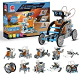 CIRO Stem Solar Robot 12 in 1 Educational Building Toys Coding Science kit For Kids Age 8-12 Construction Engineering Set