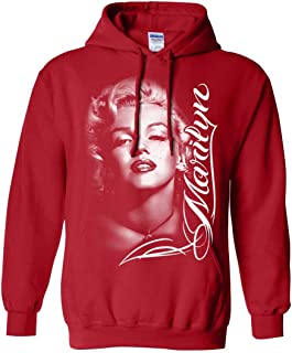 Marilyn Monroe Portrait Signature Unisex Sweatshirt Hoodie
