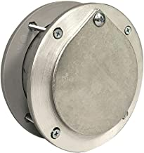 5 Inch Aluminum Exhaust Port for Doors Up to 2 Inch Thick
