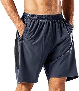 Stoota 2020 Men Summer Sports Quick-Drying Shorts with Zip Pockets Running Short Pants Joggers Biker Shorts Cargo Pants