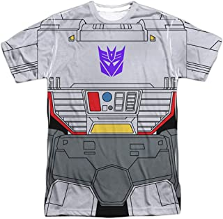 Transformers Megatron Costume Unisex Adult Front Only Sublimated T Shirt for Men and Women