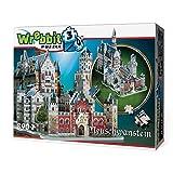 Wrebbit W3D2005 - Puzzle en 3D del Castillo de Neuschwanstein (Alemania)