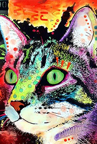 symzl Puzzel voor volwassenen 1000 stukjes, Cartoon-serie Houten puzzel, Creatief cadeau Educatief speelgoed voor kinderen Ontwikkeling Intelligentie - Negen leven Cat