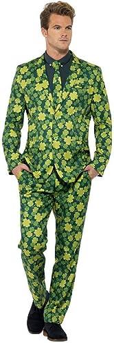 Horror-Shop Anzug mit Kleeblatt Motiv XL