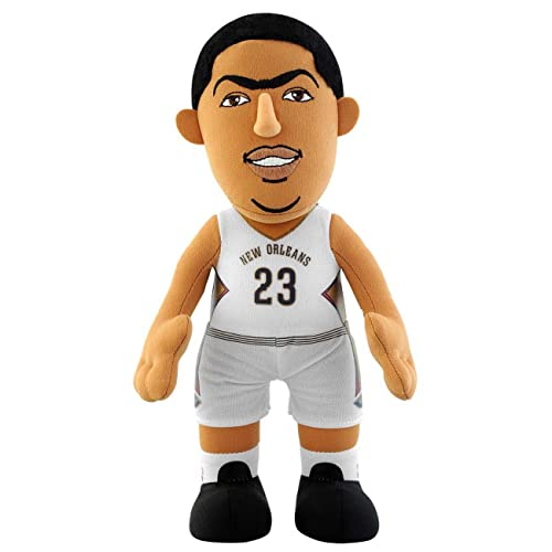 NBA New Orleans Pelicans Anthony Davis Player Plush Doll, 6.5-Inch x 3.5-Inch x 10-Inch, blue