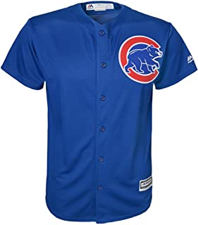Majestic Athletic Chicago Cubs Alternate Blue Cool Base Youth Jersey
