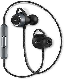 AKG Sealed Dynamic Canal Type Auriculares inalámbricos Bluetooth N200 Wireless AKGN200BTBLK 【Japón Productos genuinos】【Envío Desde Japón】, Negro