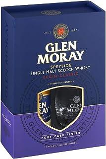 Glen Moray Elgin Classic Single Malt Scotch Whisky mit 2 Gläsern 1 x 0.70 l