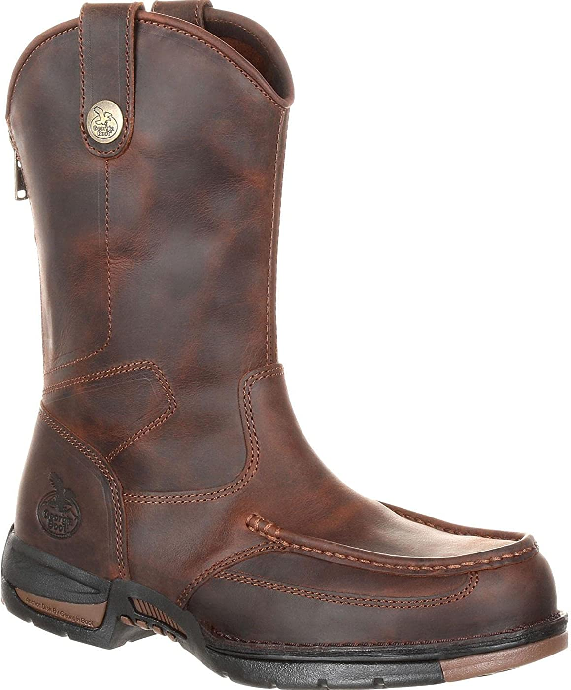 Georgia Boot Phoenix Mall Athens Pull-On Work Free Shipping Cheap Bargain Gift