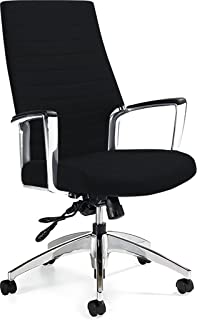 Global Accord High Back Tilter Executive Chair, Black 26704ALSO47
