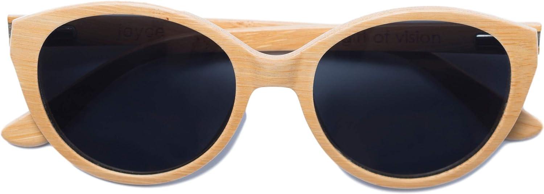 Joyce Ultralight Bamboo Sunglasses (Natural)