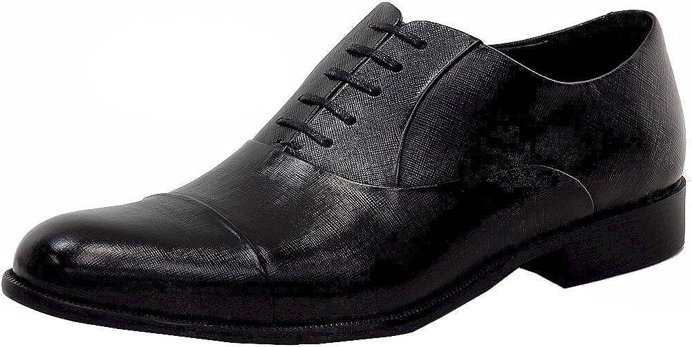 Kenneth Cole Men's Chief Council Fashion Black Oxfords Shoes Sz: 8