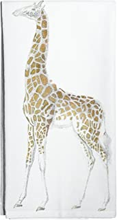 Montgomery Street Designs Giraffe Flour Sack Towel