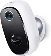 Wireless Outdoor Security Camera, Rechargeable Battery...