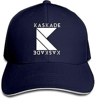Kaskade Corporate DJ Logo Fonts Print Black Adjustable Unisex Hats Trucker Caps Sanwich Bill Caps