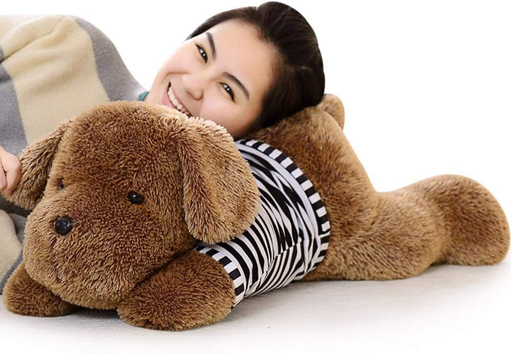PDGJG Plush Toy Dog Toy,Soft Puppy 5 popular Softes Cute 67% OFF of fixed price Brown