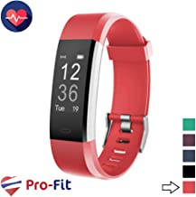 Pro-Fit Active VeryFitPro Fitness Tracker IP67 Waterproof Activity Tracker Heart Rate Sleep Monitor (ID115 Plus HR)