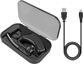 Portable Power Charging Case for Bluetooth Headset Plantronics Voyager Legend(Black)
