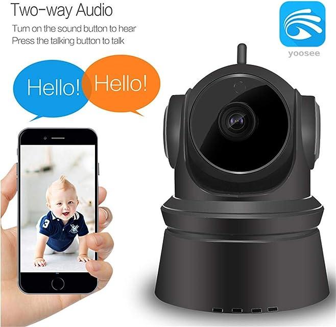 ZXJD Las cámaras de Seguridad cámaras de Interior cámara inalámbrica GJW 1080P FHD WiFi IP de visión Nocturna 2-Way Audio Home vigilancia de la Seguridad del bebé/Elder/Animal