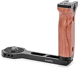 SMALLRIG Universal Wooden Left Side Handle for DJI Ronin S/Ronin SC/Zhiyun Crane 2 / Crane V2 Series Gimbal Stabilizer w/C...