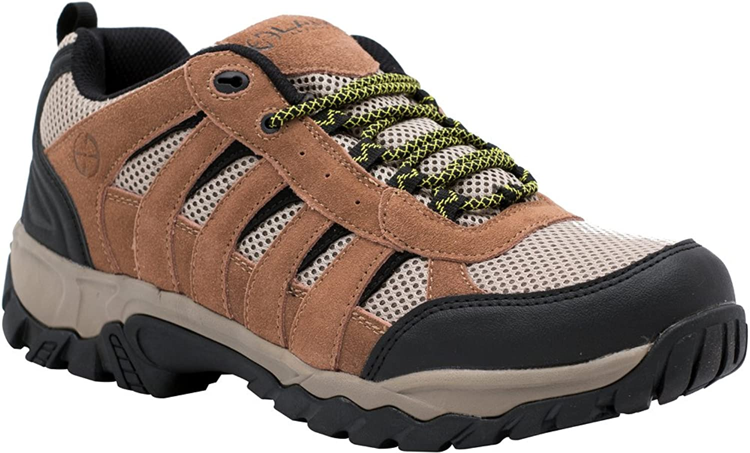 LAPG Fabric-Leather Low Atlas Hiker shoes Brown