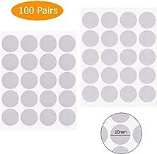 13mm 10mm Bianco gancio e velcro Dots monete Self Adesivo Appiccicoso Dots