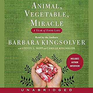 Animal, Vegetable, Miracle audiobook cover art