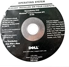 Dell Windows 7 Home Premium SP1 64-bit Reinstallation DVD 9M8VY