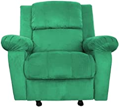 Regal In House Classic Recliner Chair with Controllable Back - Green AB02