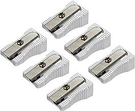 Zande Phondex Sacapuntas Manual Metalico Para Lápices (Pack de 6 Unidades)