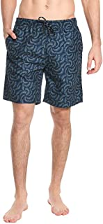 fd07a44a03 Surfside Supply New Mens Monaco Blue Ombre Shell Volley Swim Trunks Size XL