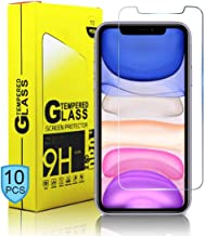9H Screen Protector for Apple iPhone 11 Pro/iPhone Xs/iPhone X - 10 PCS Pack Tempered Glass Screen Protector Compatible iPhone XS/X/11Pro 5.8-Inch (Pack of 10)