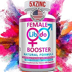 commercial Natural Women's Health and Vitality Booster Tablets – With Powerful Energy Boosters … female libido enhancer