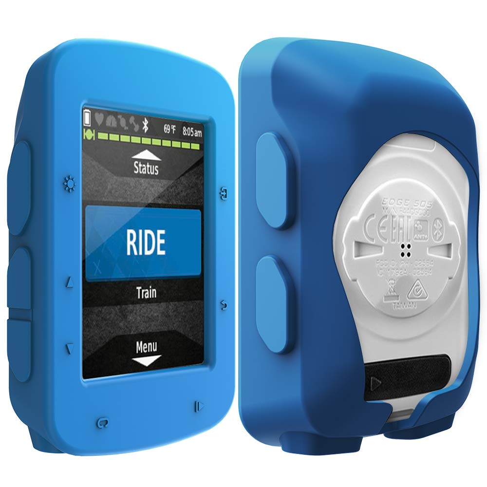 Silicone Protective Cover TUSITA Case for Garmin Edge 800 810,Edge Touring Plus,Approach G6 G7 GPS Bike Computer Accessories