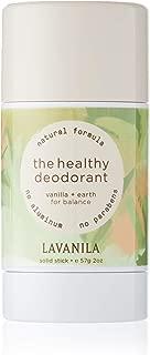 Lavanila The Healthy Deodorant Deodorant Stick, Vanilla & Earth, 2 Ounce
