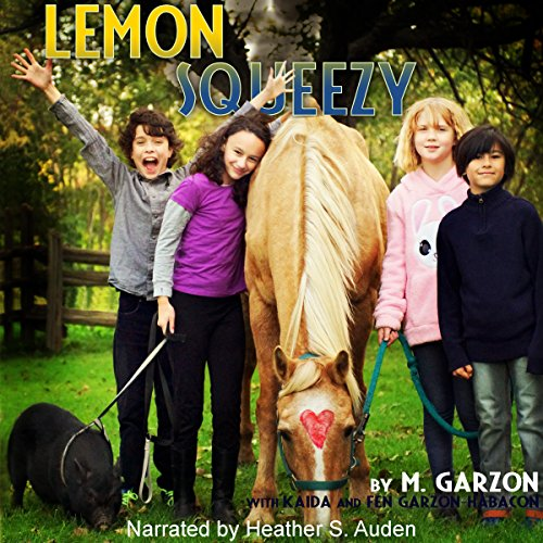 Lemon Squeezy audiobook cover art