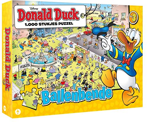 Donald Duck puzzel 3