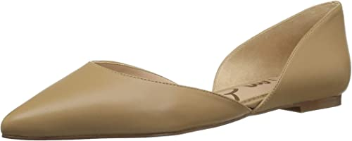 Sam Edelman Wohommes Rodney Ballet Flat, Flat, Classic Nude Leather, 10 M US