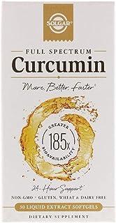 Solgar Full Spectrum Curcumin - 30 Liquid Extract Softgels