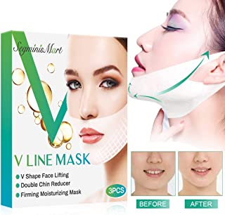 V Line Mask, Chin Up Patch, Double Chin Reducer Mask V Shaped Slimming Face Mask..